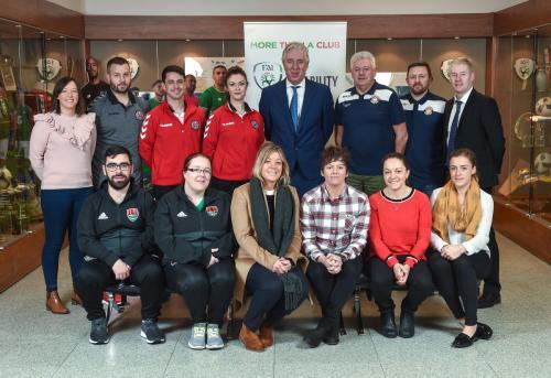 More Than A Club - Welsh & Irish Staff Training