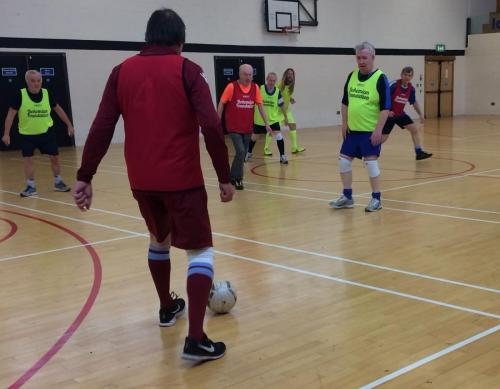 Bohemian FC Walking Football Group